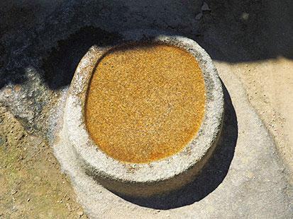 マチュピチュ観光 天体観測の石
