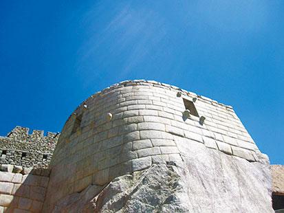 マチュピチュ観光 太陽の神殿