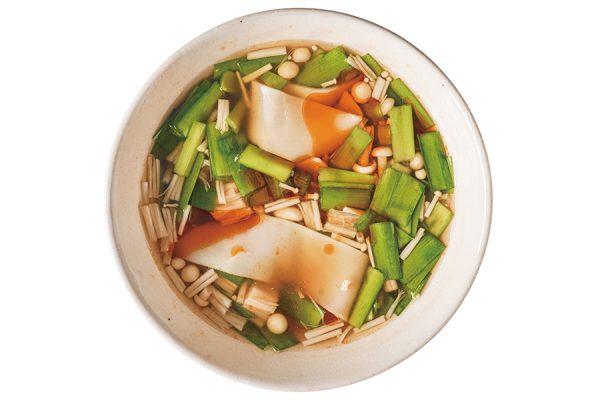 ご飯にあう時短スープ&即席みそ汁で朝から元気に!