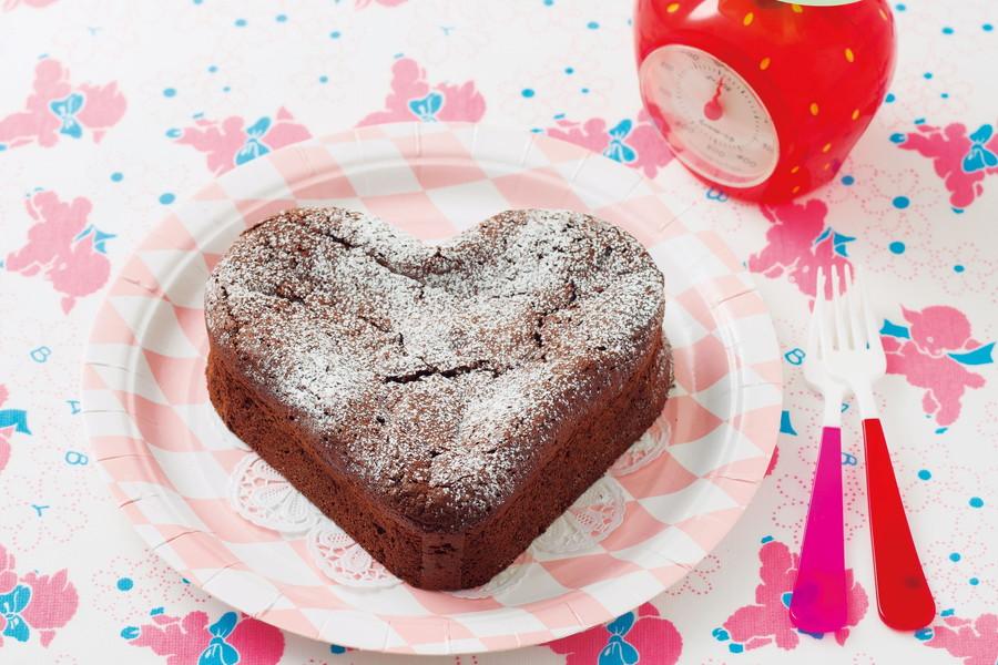 ハートのガトーショコラ レシピ 作り方 Ei Cooking