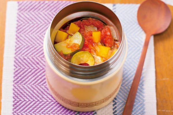 【スープジャー】ラタトゥイユ風 レシピ・作り方