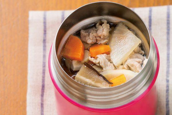 【スープジャー】豚汁 レシピ・作り方