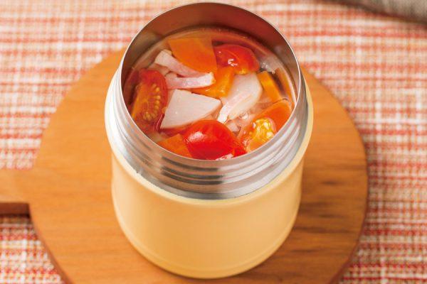 【スープジャー】ミネストローネ レシピ・作り方
