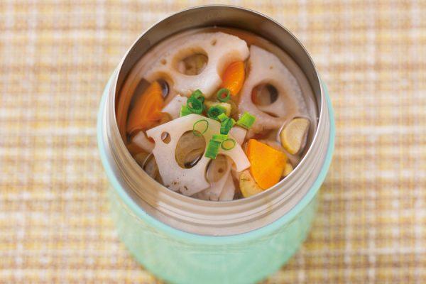 【スープジャー】根菜たっぷりスープ レシピ・作り方