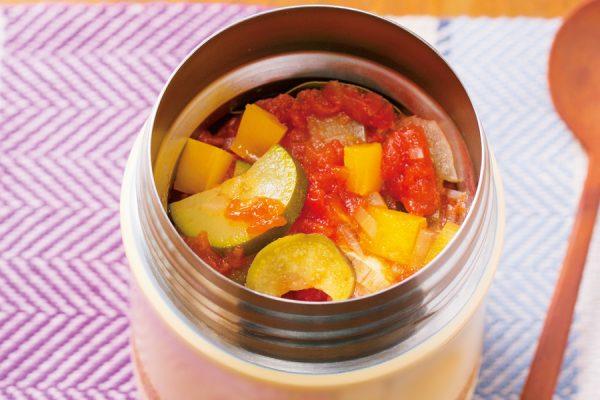 スープジャーでヘルシーお弁当。野菜たっぷり200cal以下レシピ