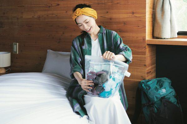 旅好き女子の強い味方!「アタックどこでも袋でお洗たく」と行く1泊2日のひとり旅
