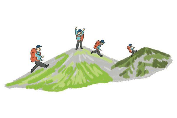 """""""縦走""""登山とは?基本を押さえて無理のないステップアップを"""